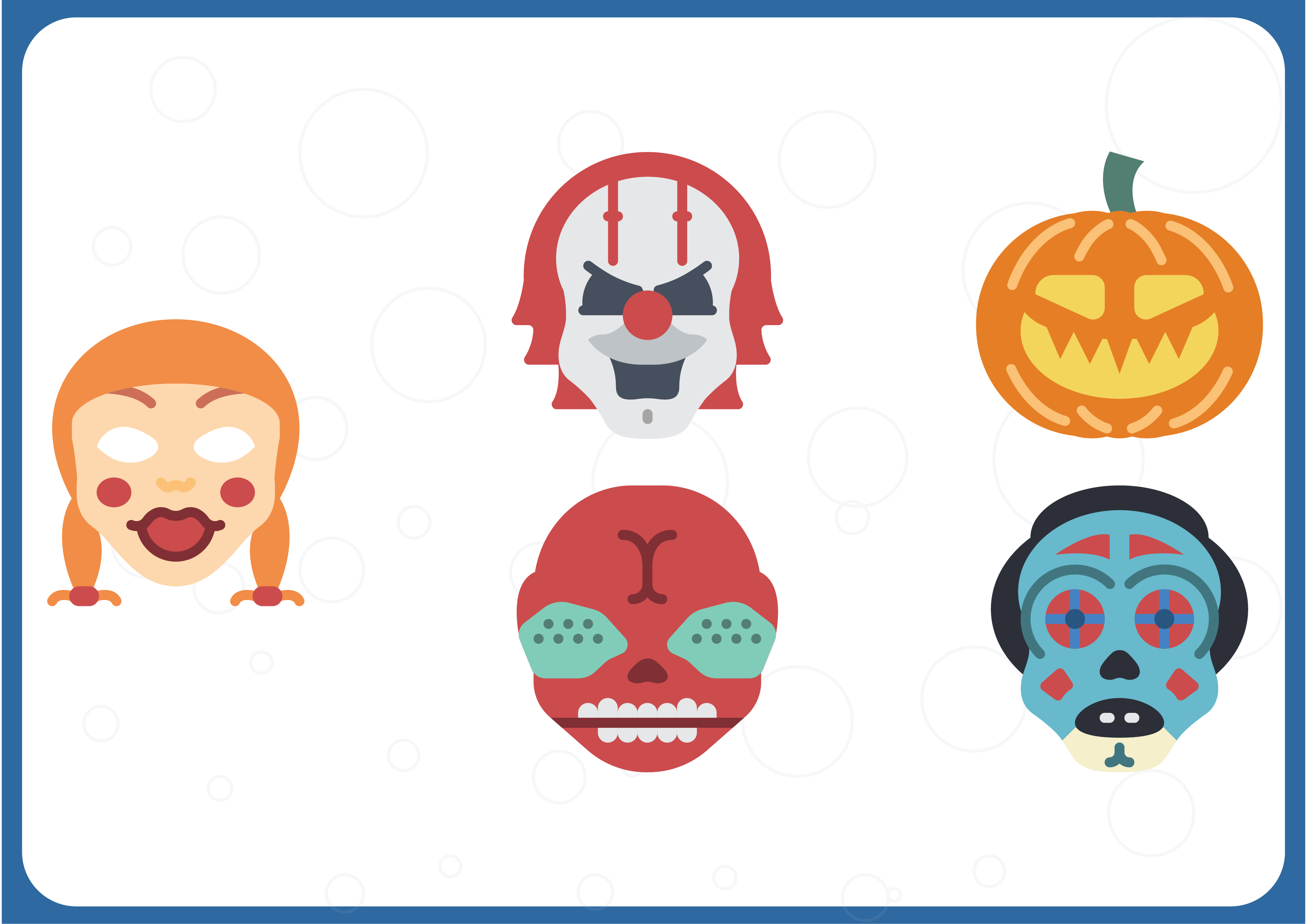 Download Free Horror Emojis Grafico Por Colorkhu123 Creative Fabrica for Cricut Explore, Silhouette and other cutting machines.
