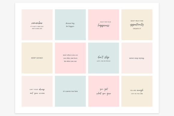 Download Free Instagram Quotes Canva Templates Graphic By Stylishdesign for Cricut Explore, Silhouette and other cutting machines.