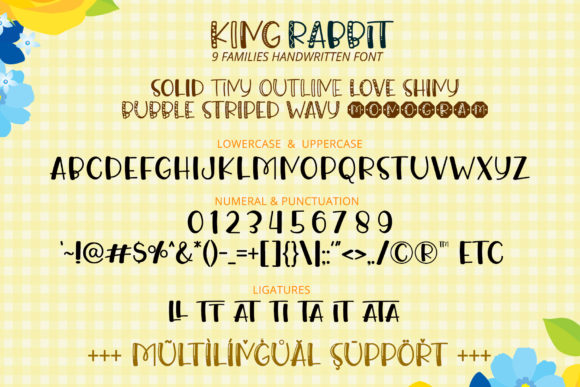 Print on Demand: King Rabbit Script & Handwritten Font By airotype - Image 10