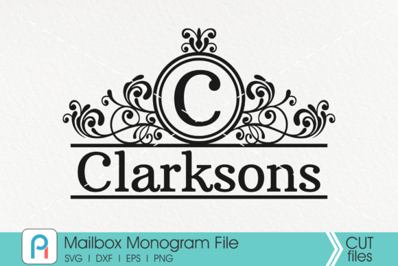 Download Free Mailbox Mailbox Monogram Mail Graphic By Pinoyartkreatib for Cricut Explore, Silhouette and other cutting machines.