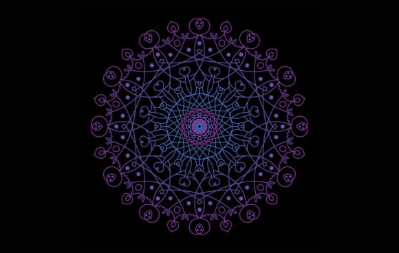 Print on Demand: Mandala Vector Luxury Files #33 Graphic Backgrounds By vikshangat - Image 1