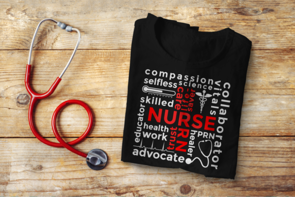 Nurse Subway Art Graphic Crafts By DesignedByGeeks