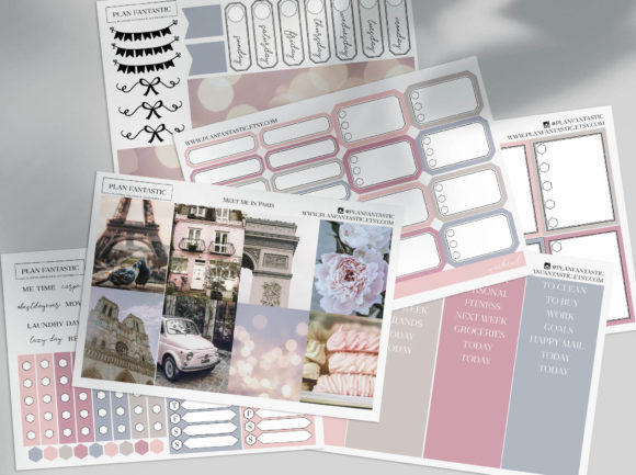 Download Free Habit Tracker Printable Planner A5 Graphic By Planfantastic for Cricut Explore, Silhouette and other cutting machines.