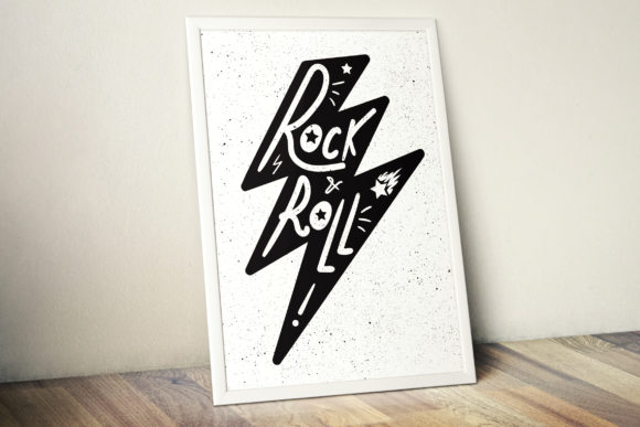 Print on Demand: Rock and Roll in Thunderbolt Graphic Illustrations By barsrsind