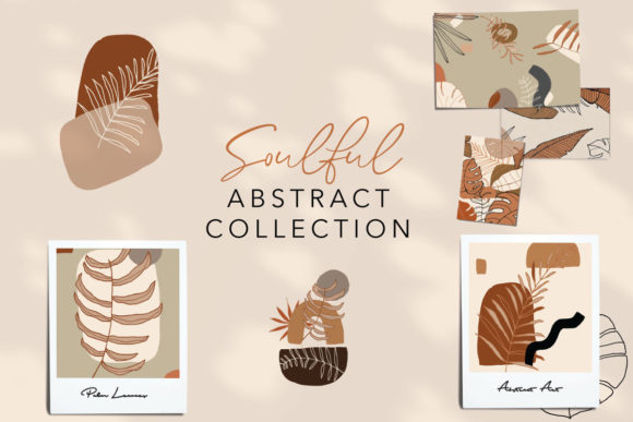Print on Demand: Soulful Abstract Collection Graphic Illustrations By Digital Hustler