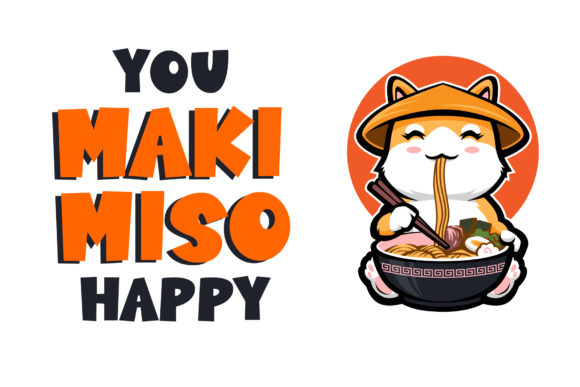 Print on Demand: Sushi Moshi Display Font By dmletter31 - Image 6