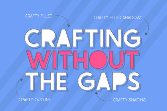 The Crafty Collection Family Font Downloadable Digital File