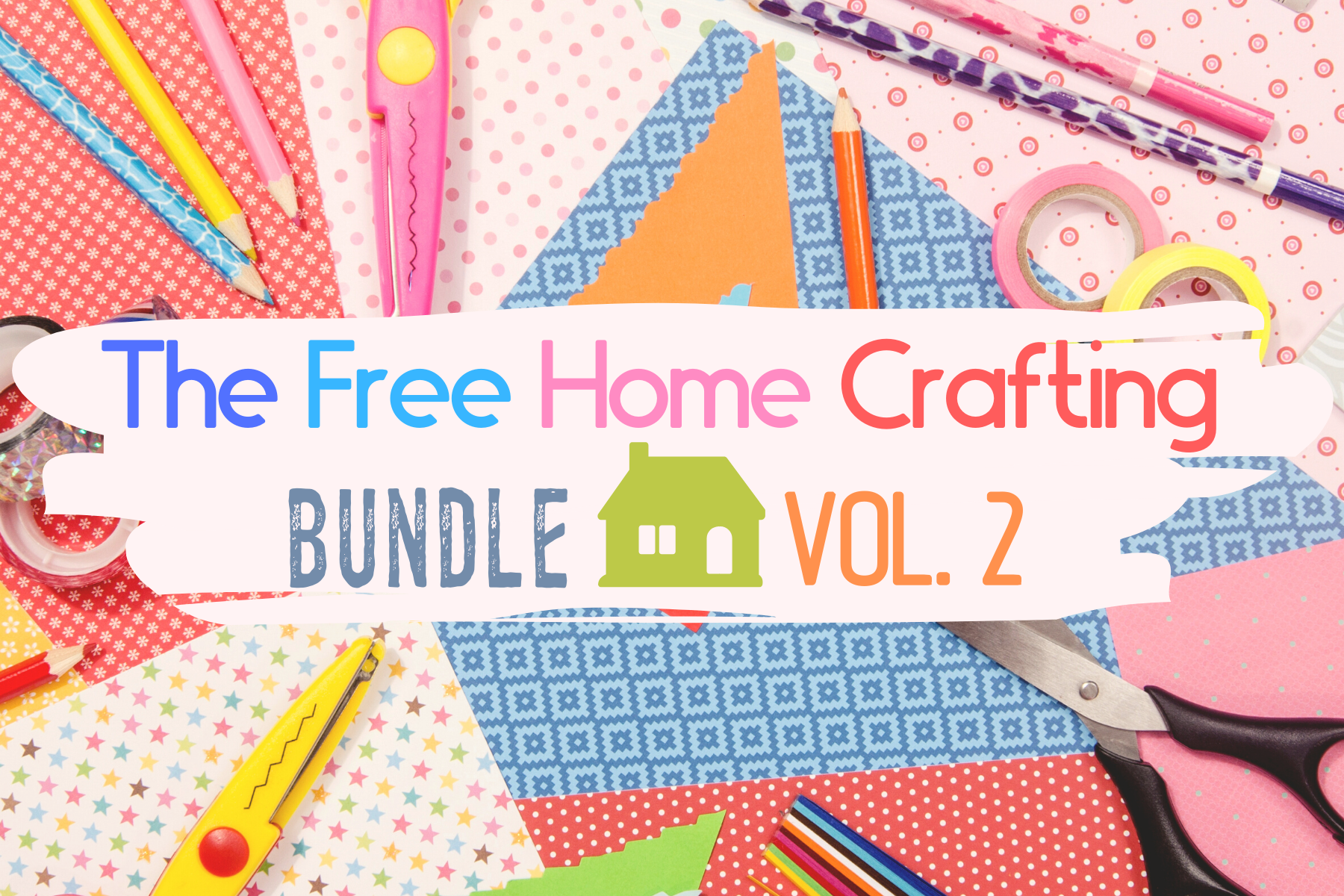 The Free Home Crafting Bundle Vol 2 Bundle Creative Fabrica