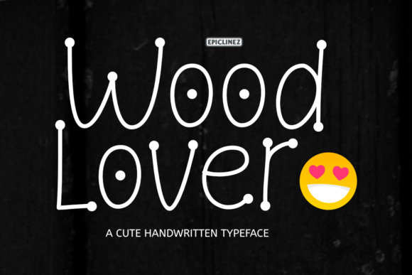 Print on Demand: Wood Lover Display Font By Epiclinez - Image 1
