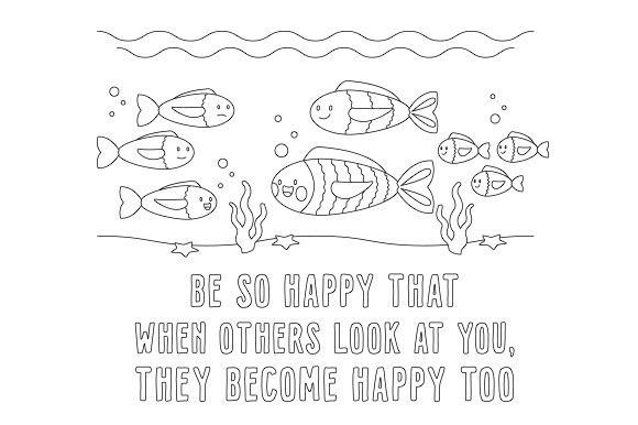 Be so Happy That when Others Look at You, They Become Happy Too Motivational Craft Cut File By Creative Fabrica Crafts