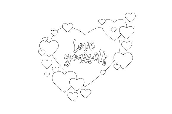 Love Yourself Motivational Craft Cut File By Creative Fabrica Crafts