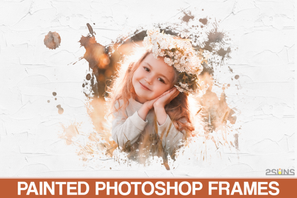 Download Free 20 Watercolor Portrait Masks Photoshop Graphic By 2suns for Cricut Explore, Silhouette and other cutting machines.