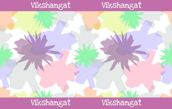 Print on Demand: Abstract Colorful Seamless Pattern Graphic Patterns By vikshangat