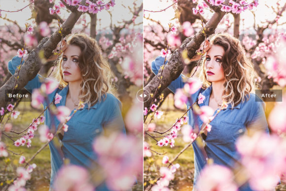 Print on Demand: Azalea Lightroom Presets Pack Graphic Actions & Presets By Creative Tacos - Image 3