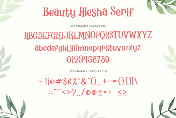 Print on Demand: Beauty Alesha Script & Handwritten Font By Holydie Studio - Image 4
