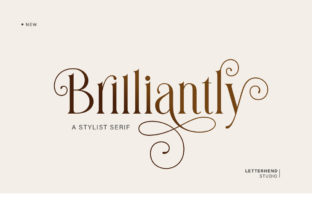 Print on Demand: Brilliantly Serif Font By letterhend
