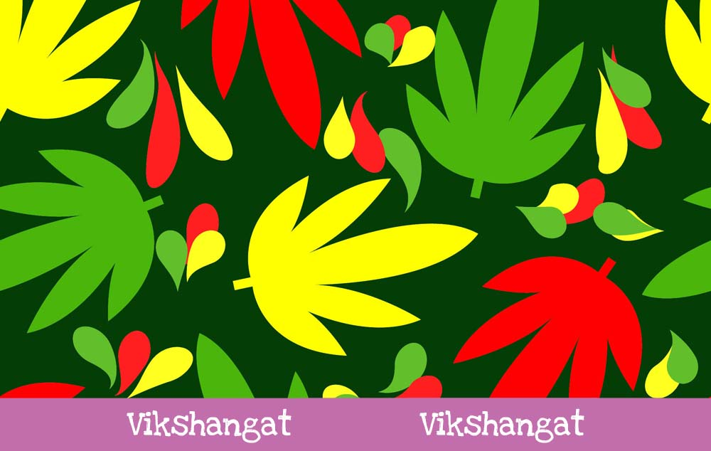 Download Free Cannabis Marijuana Pattern Background Graphic By Vikshangat for Cricut Explore, Silhouette and other cutting machines.