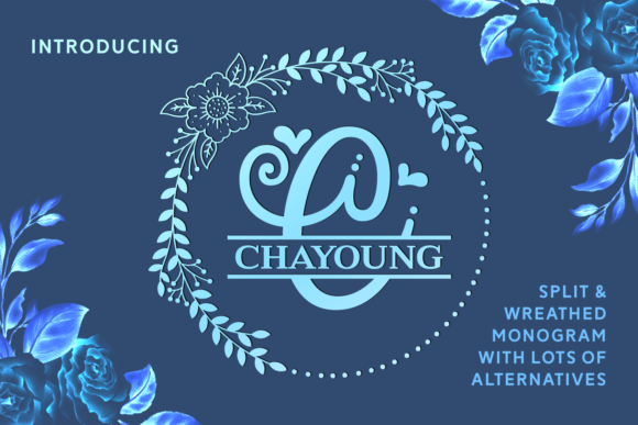 Print on Demand: Chayoung Display Font By Situjuh - Image 1