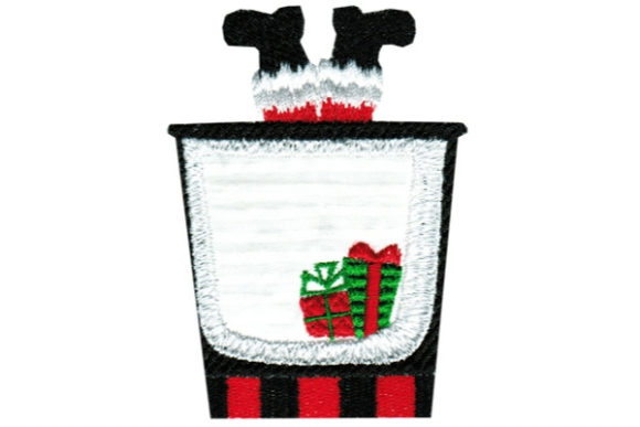 Christmas Cocktail Embroidery