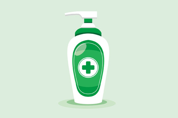 Download Free Disinfection Hand Sanitizer Bottle Grafico Por Fatrin99art for Cricut Explore, Silhouette and other cutting machines.