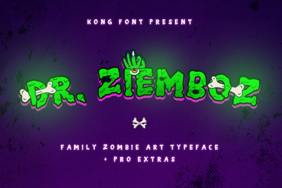 Print on Demand: Dr.Ziemboz Display Font By fontkong