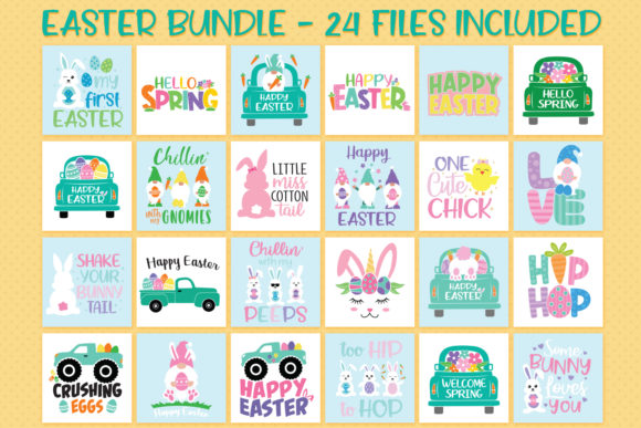Easter Bundle Graphic Crafts By All About Svg