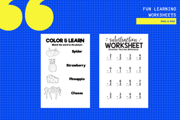 Print on Demand: Fun Activity Learning Sheets X 10 Graphic Teaching Materials By yumbeehomeschool - Image 2
