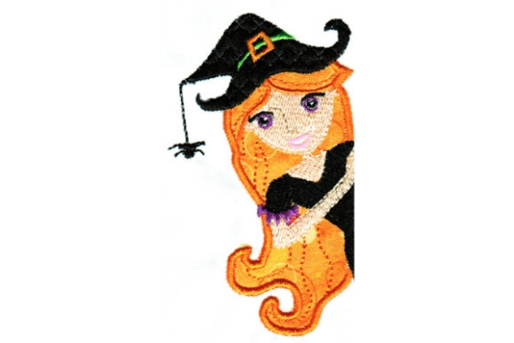 Halloween Cutie Halloween Embroidery Design By Sue O'Very Designs