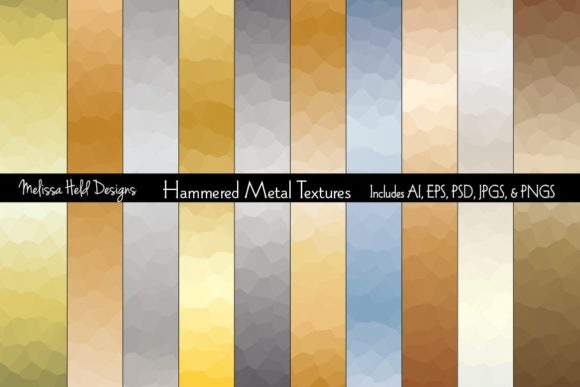 Hammered Metal Backgrounds Graphic Textures By Melissa Held Designs