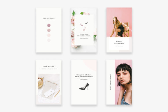 Download Free Instagram Stories Canva Lady Boss Grafico Por Stylishdesign SVG Cut Files