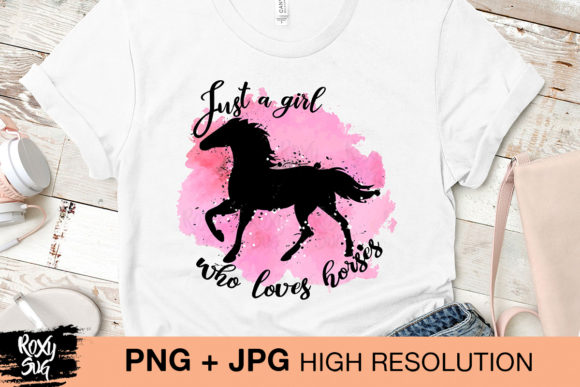 Download Just a Girl Who Loves Horses