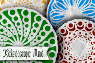Print on Demand: Kaleidoscopic Mind Dingbats Font By qkila