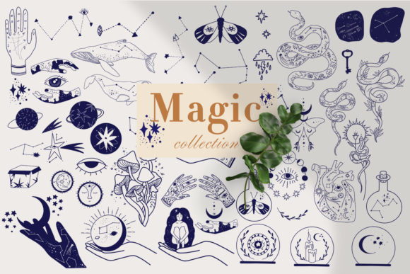 Print on Demand: Magic Mystical Collection Graphic Illustrations By By Anna Sokol