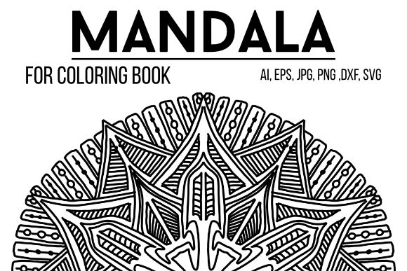 Print on Demand: Mandala Graphics 28 Graphic Coloring Pages & Books Adults By stanosh - Image 1