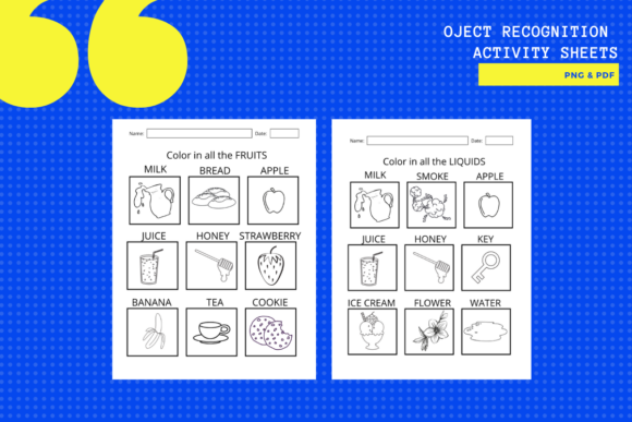 Print on Demand: Object Recognition Activity Worksheets Graphic Teaching Materials By yumbeehomeschool - Image 2