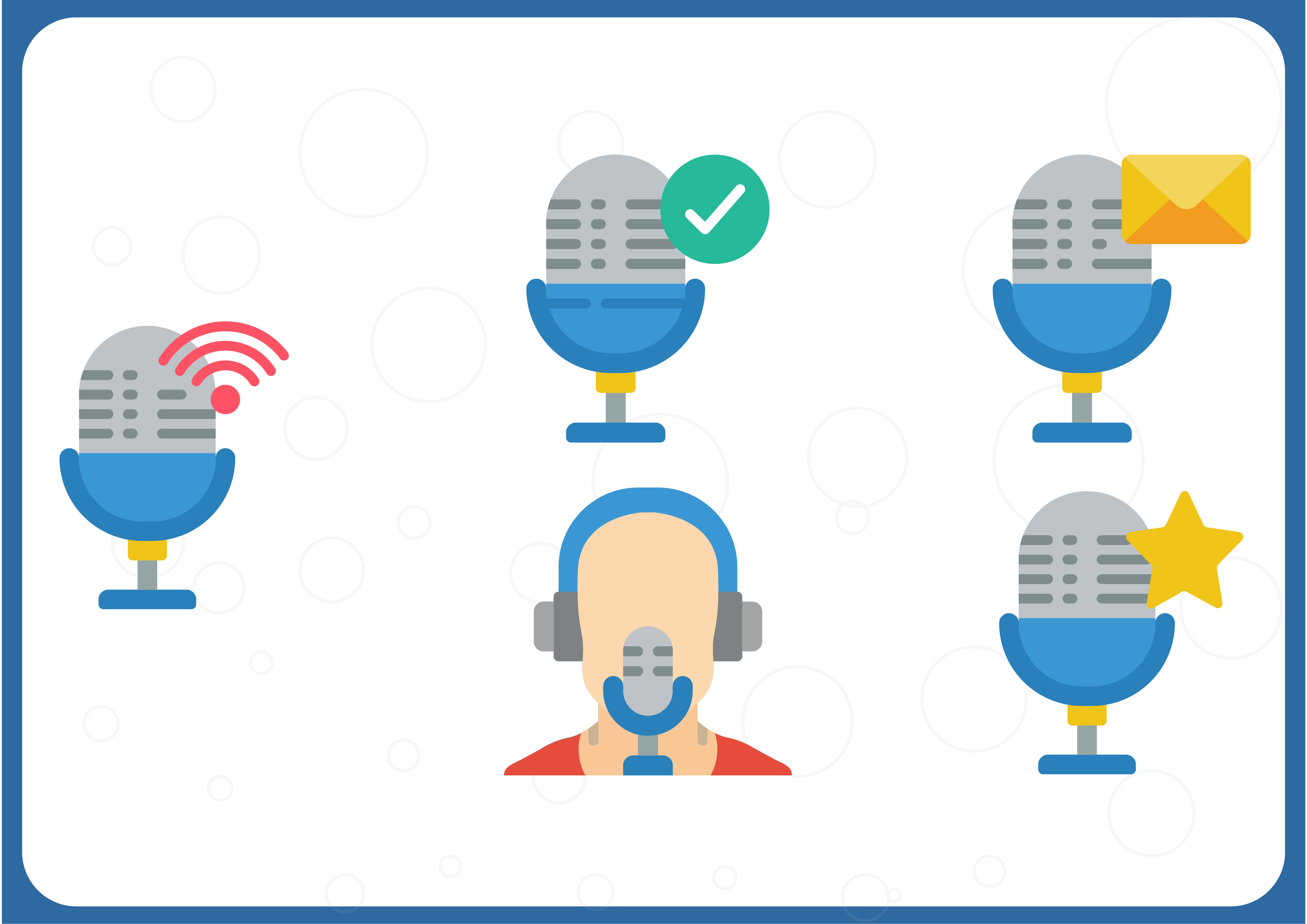 Download Free Podcasts Graphic By Colorkhu123 Creative Fabrica SVG Cut Files