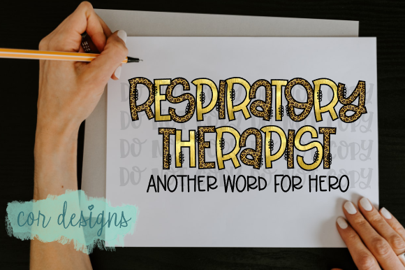 Download Free Respiratory Therapist Hero Graphic By Designscor Creative Fabrica for Cricut Explore, Silhouette and other cutting machines.