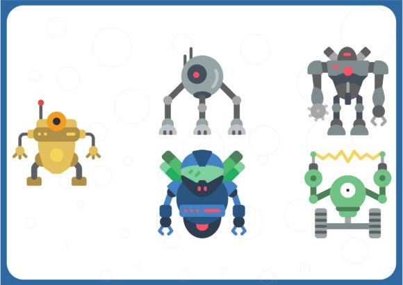 Download Free Robotics Graphic By Colorkhu123 Creative Fabrica for Cricut Explore, Silhouette and other cutting machines.