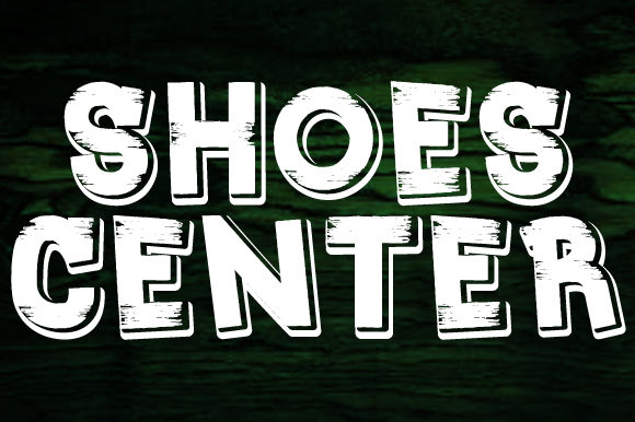 Print on Demand: Shoes Center Display Font By qkila - Image 2