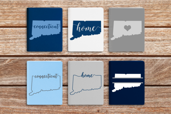 State of Connecticut Graphic Crafts By DesignedByGeeks