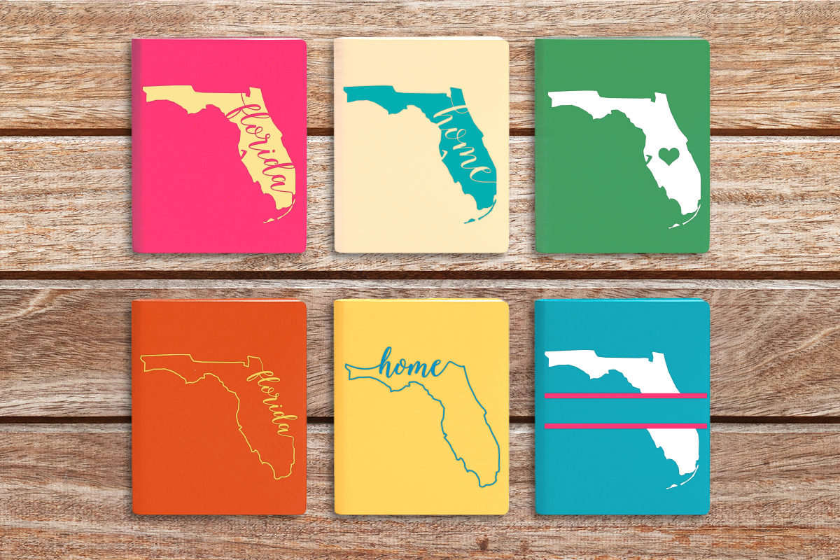 Download Free State Of Florida Graphic By Designedbygeeks Creative Fabrica for Cricut Explore, Silhouette and other cutting machines.
