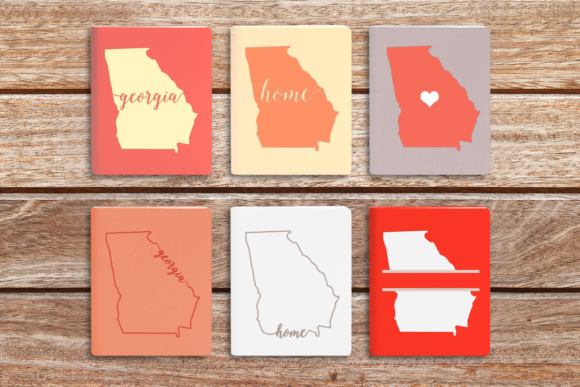 State of Georgia Graphic Crafts By DesignedByGeeks