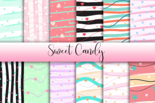 Sweet Candy Background Digital Papers Graphic Backgrounds By PinkPearly