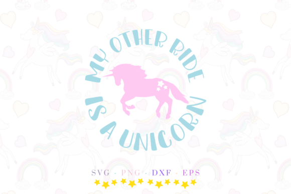 The Unicorn Bundle Graphic Crafts By Graphipedia - Image 5