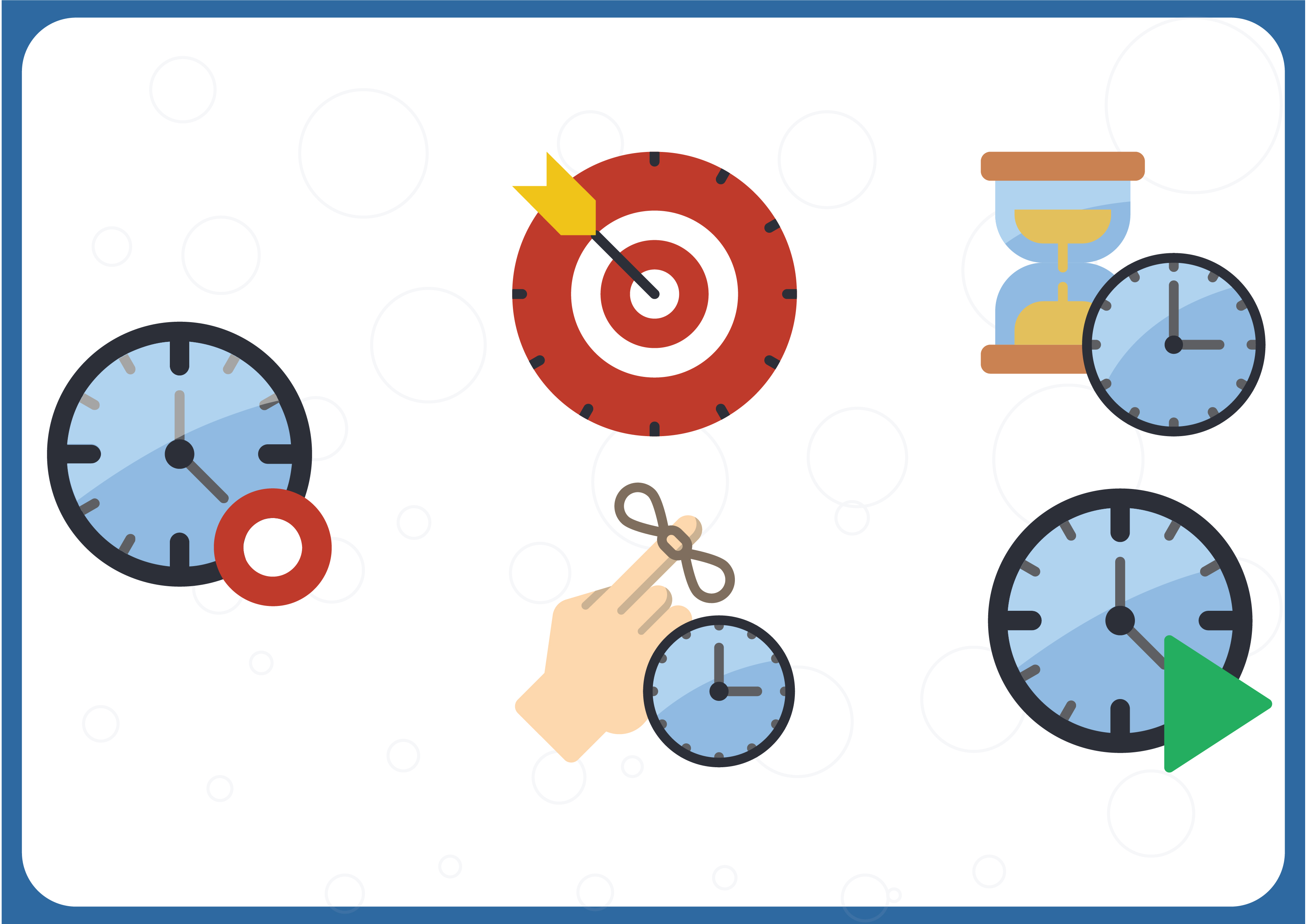 Download Free Time Management Graphic By Colorkhu123 Creative Fabrica for Cricut Explore, Silhouette and other cutting machines.