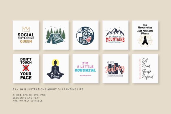 Download Free 30 Pics About Quarantine Just Stay Home Graphic By Cosmic SVG Cut Files