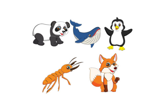 Download Free Animal Vector Bundling Graphic By Printablesplazza Creative for Cricut Explore, Silhouette and other cutting machines.