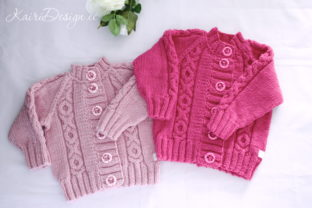 Baby Cardigan Knitting Pattern Graphic Knitting Patterns By Kairi Mölder