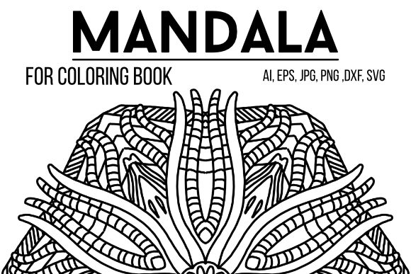 Print on Demand: Cool Mandala Design 36 Graphic Coloring Pages & Books By stanosh