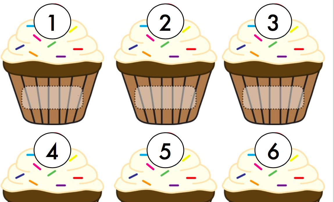 Download Free Cupcake Number Match Graphic By Lory Araujo Creative Fabrica for Cricut Explore, Silhouette and other cutting machines.